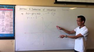 Addition & Subtraction of Ordinates (1 of 3)