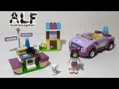 Lego 41013 Emma´s Sports Car / Emmas Sportwagen - Lego Speed Build Review