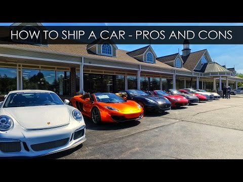 How To Ship a Car - Pros and Cons