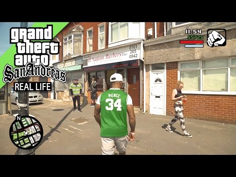 GTA San Andreas REAL LIFE 3