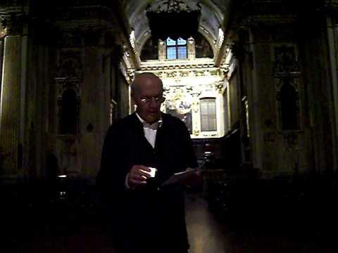 BENEDICTA SIT SANCTA TRINITAS, Introito gregoriano, Studio di Giovanni Vianini