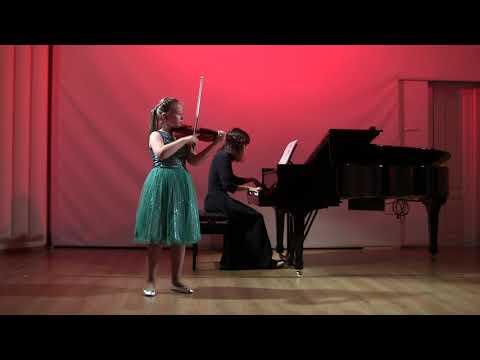 """М.Балакирев, """"Экспромт"""" для скрипки и фортепиано. Исп. А.Яковлева (скрипка), Д.Абдуллаева (ф-но)"""