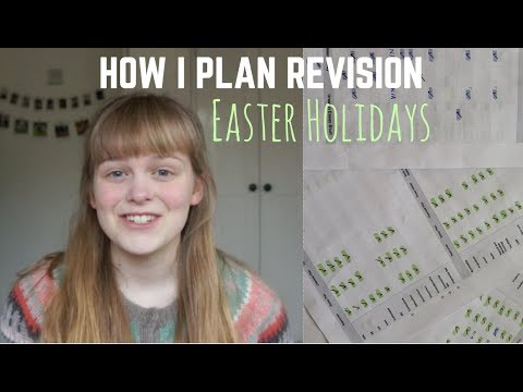 How I'm Planning Easter Revision || A2 Level