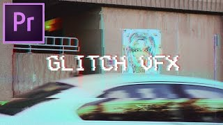 How to Make Glitch Video Effects in Adobe Premiere Pro CC 2017 Tutorial (VCR VHS Glitch Art Edit)