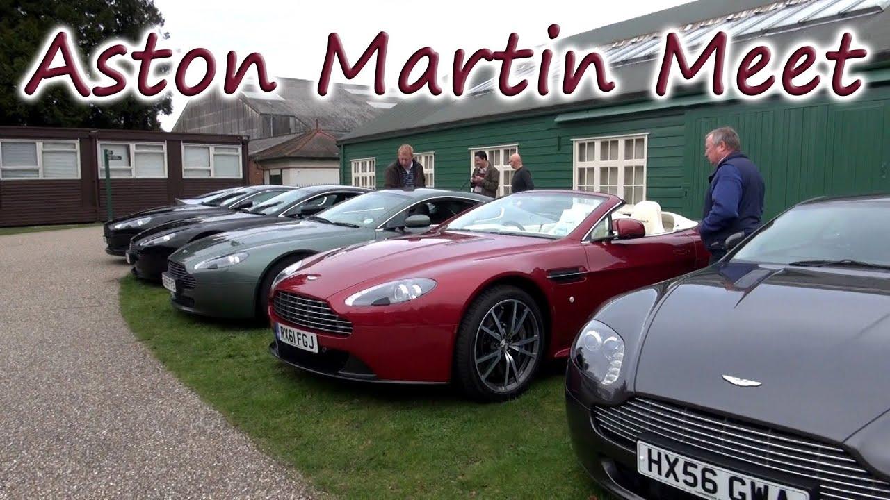 Aston Martin Meet Dbs Virage V12 Vantage V8 Vantage S Db9 V8v Youtube