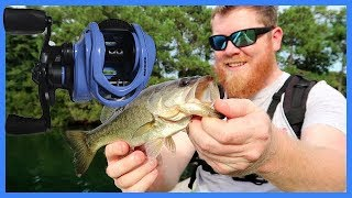 KASTKING ROYALE LEGEND ELITE ON THE WATER  BASS CAUGHT