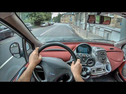 Fiat Multipla I   4K POV Test Drive #300 Joe Black