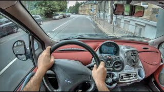 Fiat Multipla I | 4K POV Test Drive #300 Joe Black