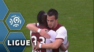 FC Metz - Olympique Lyonnais (2-1)  - Résumé - (FCM - OL) / 2014-15