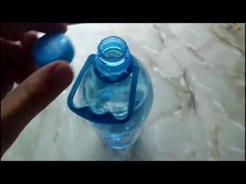 Как открыть плотно закупореную пластиковую бутылку
