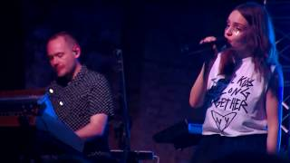 CHVRCHES  Live at House of Vans - 25th May 2018 @ 2100