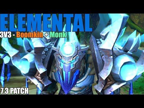 Elemental Shaman PvP - 3v3 Arena LONG GAMES INC (WoW Legion 7.3)