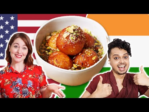 Can This American Follow A Dessert Recipe in Hindi?