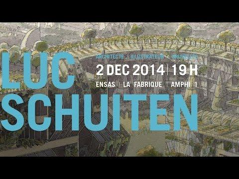 Conférence de Luc Schuiten