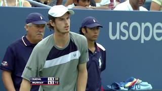 Andy Murray vs Rafael Nadal US Open 2008 Semi Final | US Open Classics
