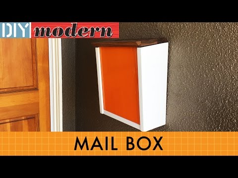 How to make a modern mailbox