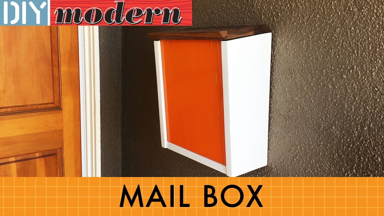 How to make a modern mailbox youtube how to make a modern mailbox diy modern solutioingenieria Image collections