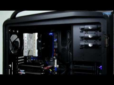 видео: Обзор корпуса cooler master cosmos ii