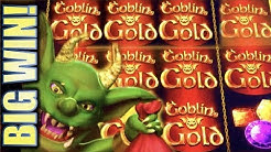 ★NEW SLOT! BIG WIN!!★ GOBLIN'S GOLD (Aristocrat) Slot Machine Bonus