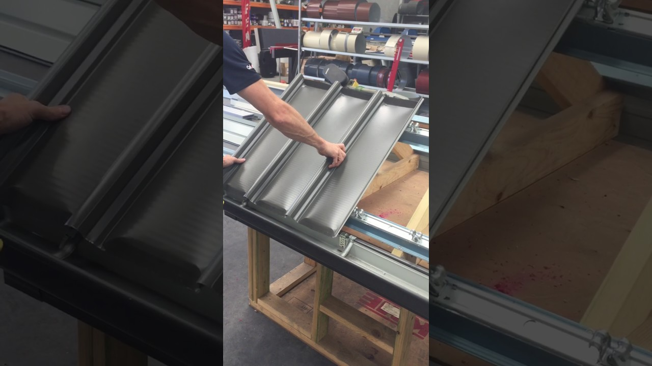 How To Install Klip Lok Colorbond Roofing Sheets Metal