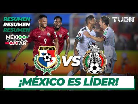 Resumen y goles | Panamá vs México | Eliminatoria - Catar 2022 | TUDN