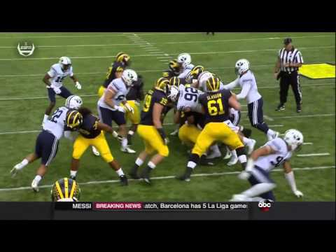 2015 Michigan Football highlights v. BYU