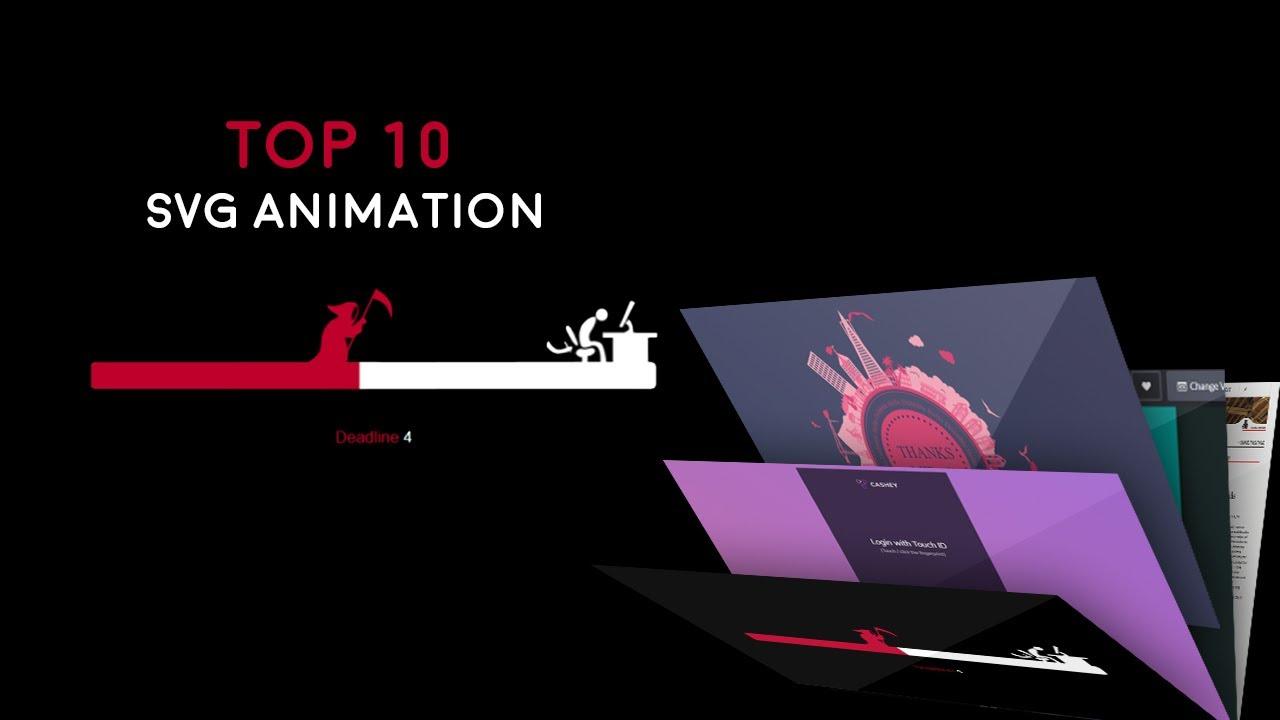 🔥 Top 10 SVG Animations 2021 🔥 | Web Tutorials