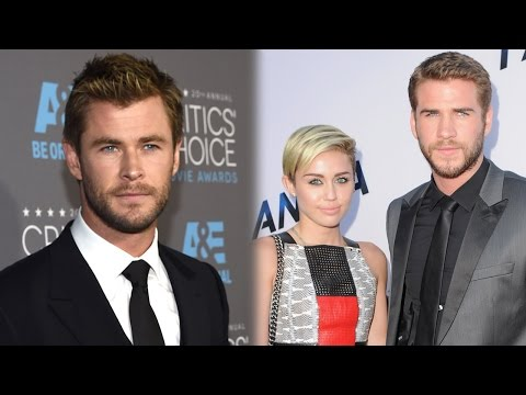 Chris Hemsworth Talks Miley Cyrus and Liam Hemsworth Engagement!