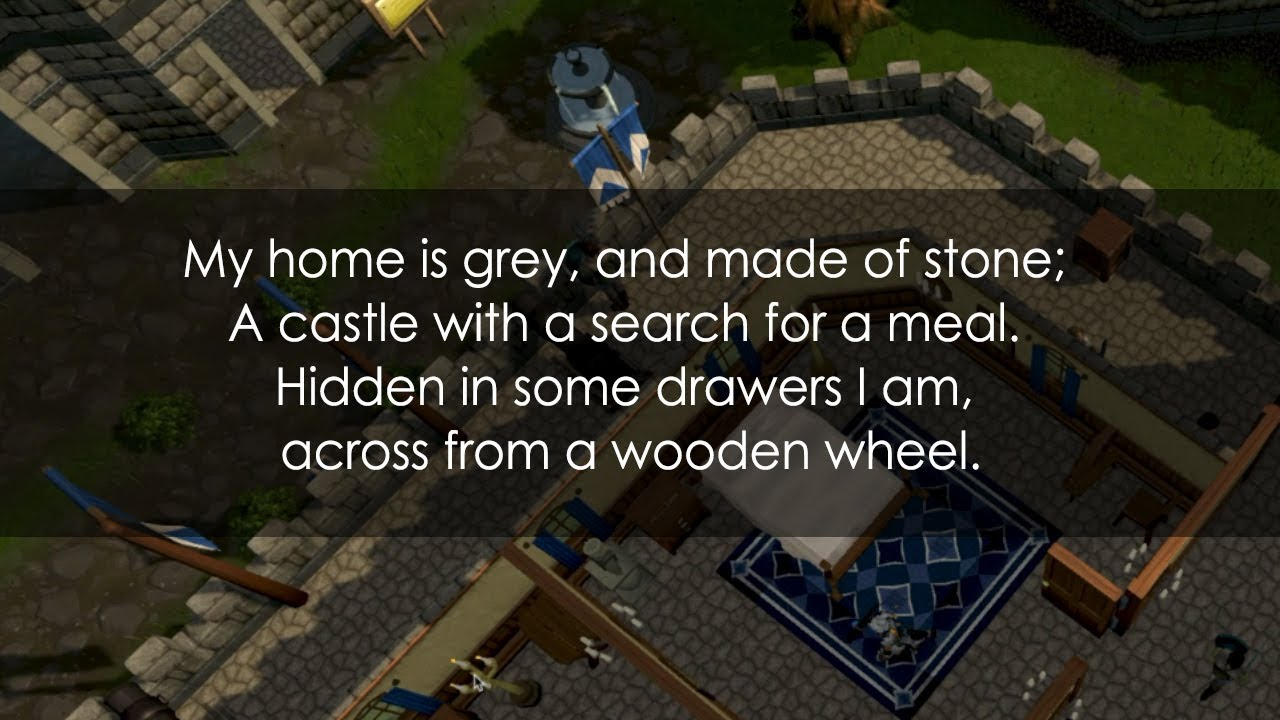 My Home Is Grey And Made Of Stone A Castle With Search For Meal