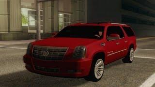2013 Cadillac Escalade ESV platinum (GTA:SA)