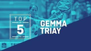 El Top 5 de Gemma Triay