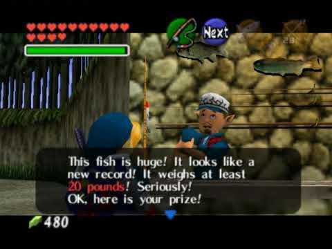 Legend Of Zelda Ocarina Of Time Walkthrough 10 (1/7)