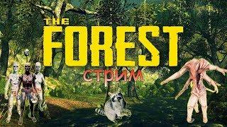 СБИЛИ САМОЛЕТ.  НАШЛИ ТИММИ. ФИНАЛ - THE FOREST (стрим)