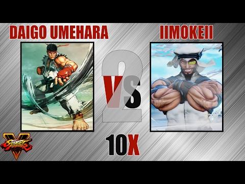 SFV - Daigo Umehara [Ryu] VS llmokell [Rashid] - #2 - Feb, 06