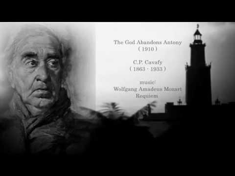 C.P. Cavafy - God abadons Anthony - Απολείπειν ο Θεός Αντώνιον -1910 recitation Giorgos Voutsas