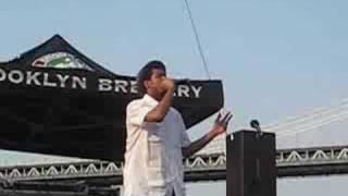 Blu @ 2008 Brooklyn Hip Hop Festival
