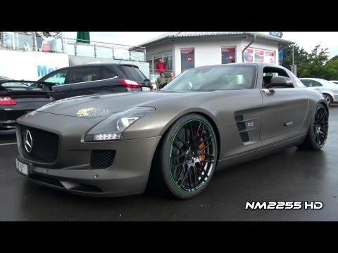 Brabus Mercedes SLS AMG Engine Start Up