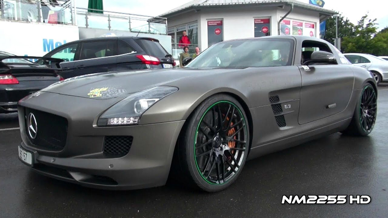 Brabus Mercedes Sls Amg Engine Start Up Youtube