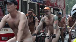 London Naked Bike Run 2016