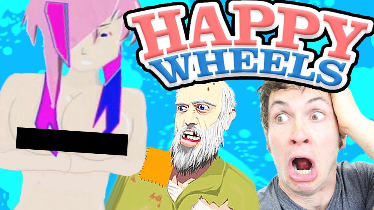 happy wheels - naked anime girl - youtube