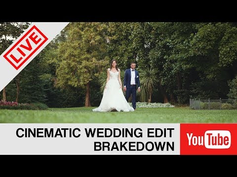 LIVE - Cinematic Wedding brakedown (Coz you asked) October 19, 21:00 CET