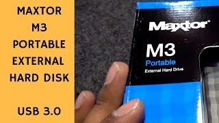 Maxtor 2TB M3 Portable External Hard drive