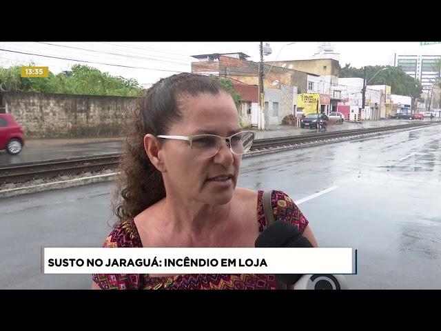 Princípio de incêndio atingiu centro automotivo no Jaraguá   Fique Alerta   15072019