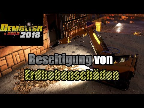 DEMOLISH & BUILD 2018 # 09 | Abriss Simulator 2018 [Deutsch|German]