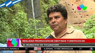 Realizan promoción de destinos turísticos en el municipio de Ticuantepe