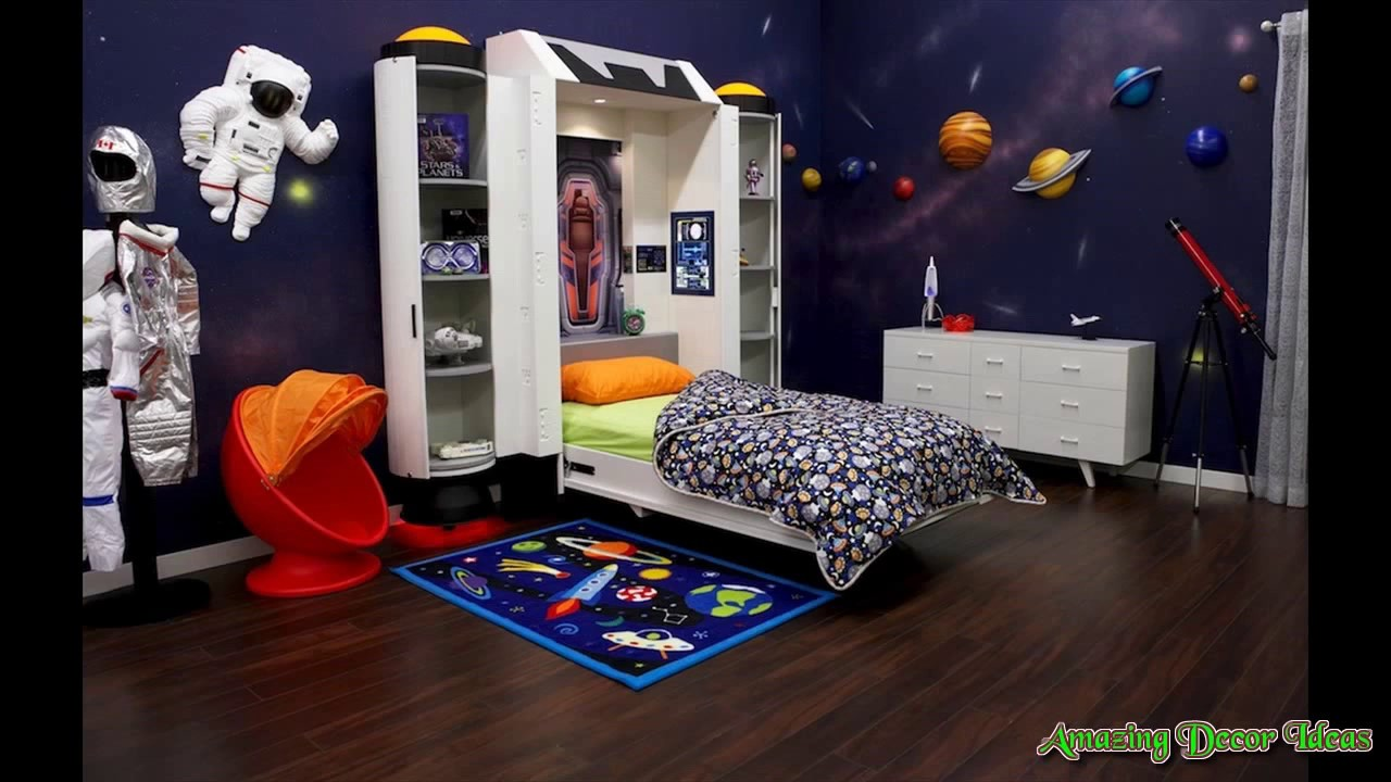 Outer space bedroom ideas youtube for Outer space bedroom design