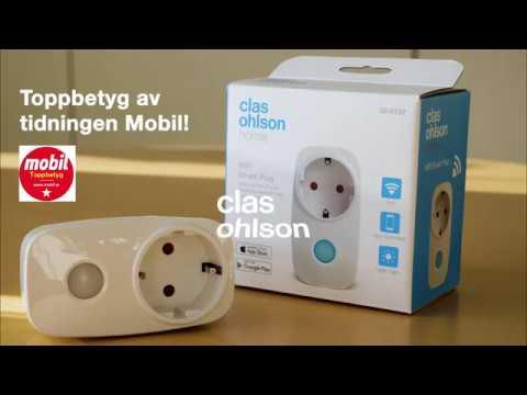 WiFi Smart Plug - Fjärrstyr vägguttagen med din smartphone