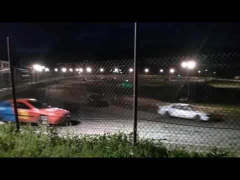 Legion Speedway - Outlaw Mini Stocks - Feature Race - 6/2/17