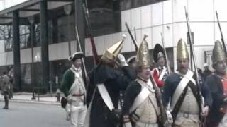 Battle Of Trenton Reenactment 12-26-2010 Part 2: The Streets