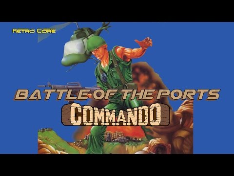 Battle of the Ports - Commando (戦場の狼) Show #74 - 60fps